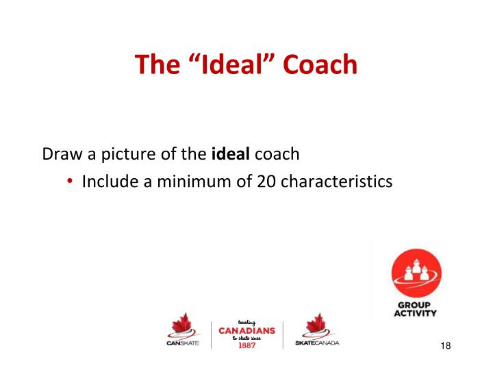 "The ""Ideal"" Coach"