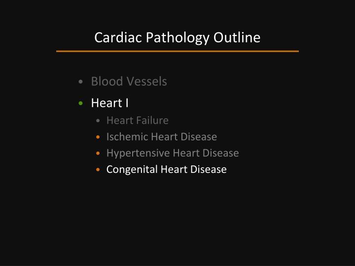 Cardiac Pathology Outline