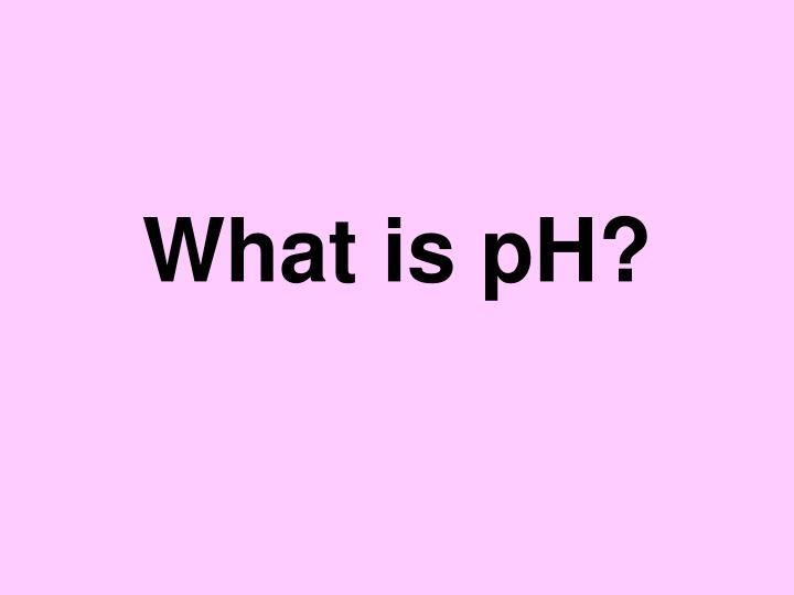 what is ph n.