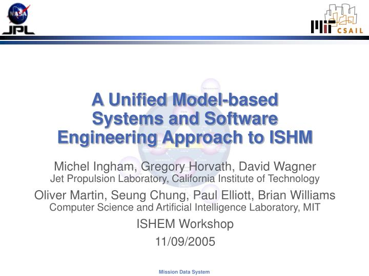 A unified model based systems and software engineering approach to ishm