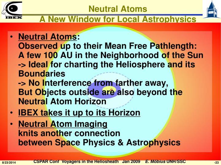 Neutral Atoms