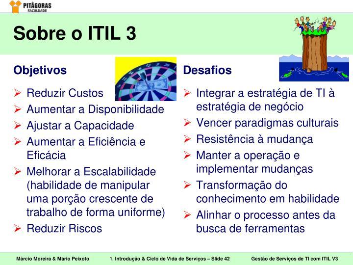 Sobre o ITIL 3