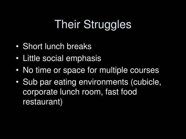 Their Struggles