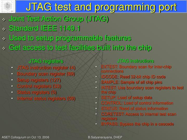JTAG registers