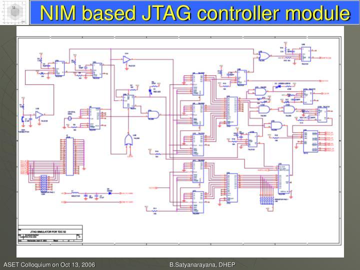 NIM based JTAG controller module