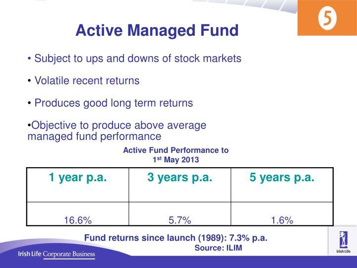 Active Managed Fund