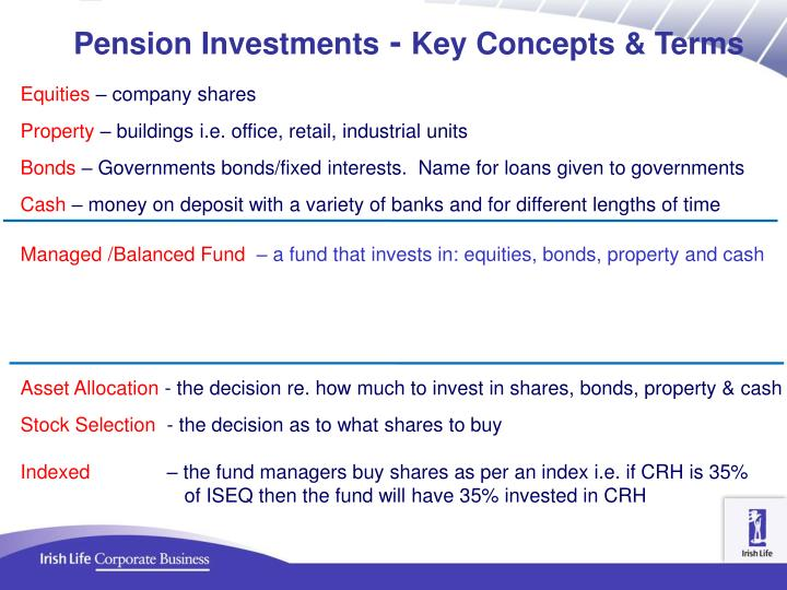 Pension Investments