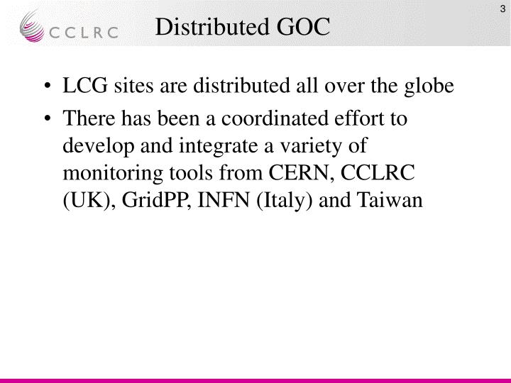 Distributed goc
