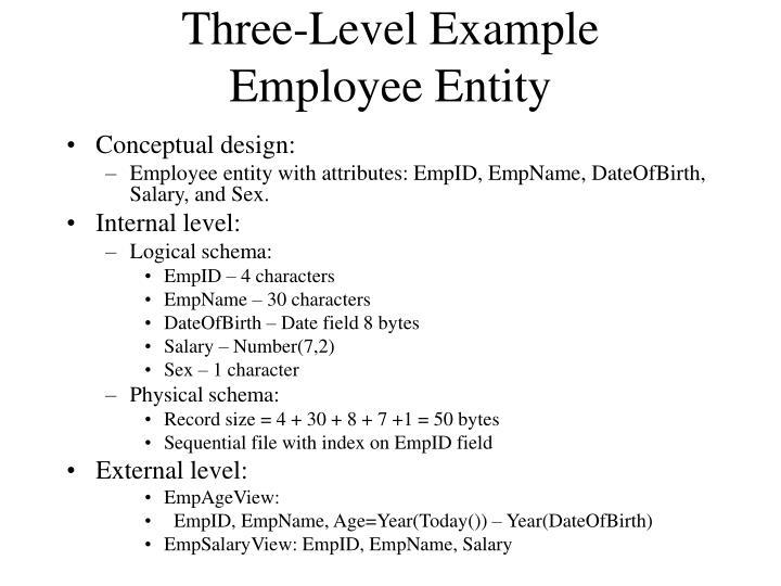 Three-Level Example