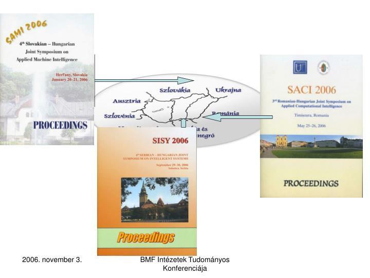 BMF Intézetek Tudományos Konferenciája
