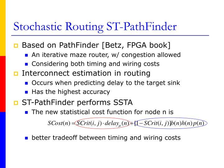 ST-PathFinder performs SSTA