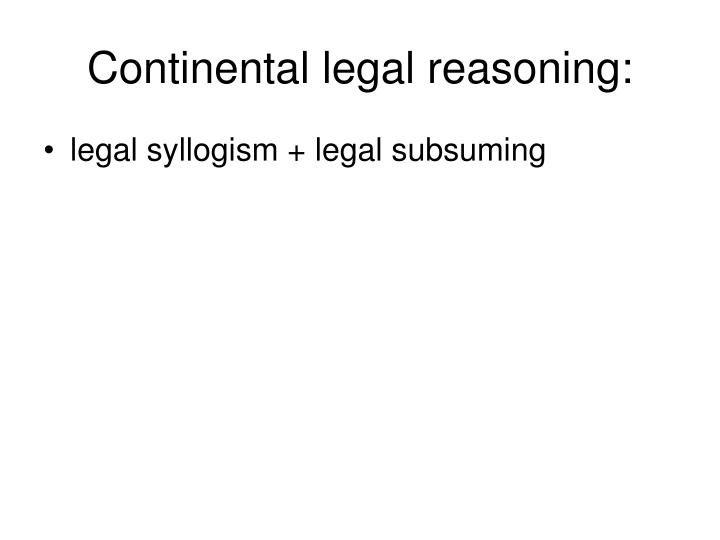 an analysis of legal reasoning All sources of law that a judge might use, but is not required to use, in making up his or her own mind about a case eg legal encyclopedias or related cases from other states holding core of a judge's decision in a case judges written opinion that applies the law to the facts of the case.
