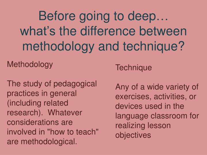 the difference between teaching methods Differences between traditional and progressive education this chart, from independent schools, a magazine of the national association of independent schools, is a helpful guide in understanding the differences between traditional and constructivist/progressive education.