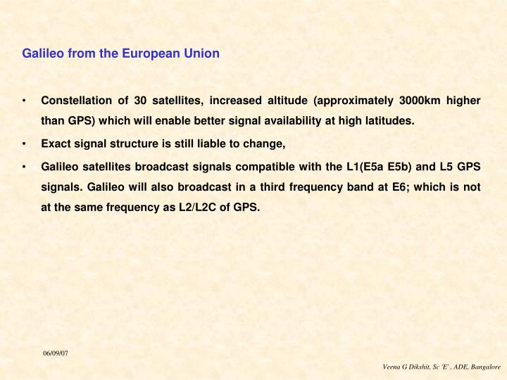 PPT - Development of Global navigation satellite system (GNSS