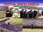 festival 2008 en angola