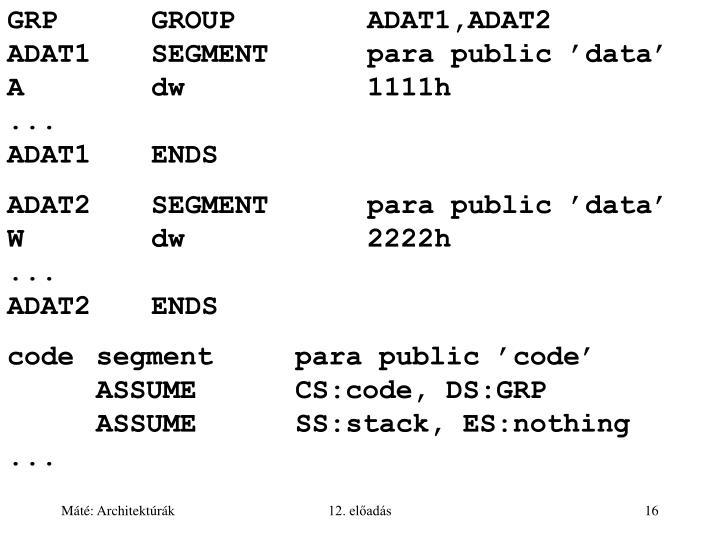 GRPGROUPADAT1,ADAT2