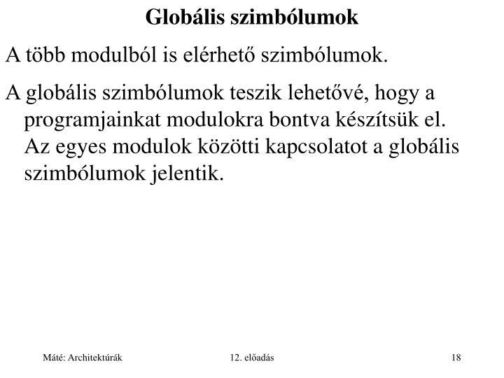 Globális szimbólumok
