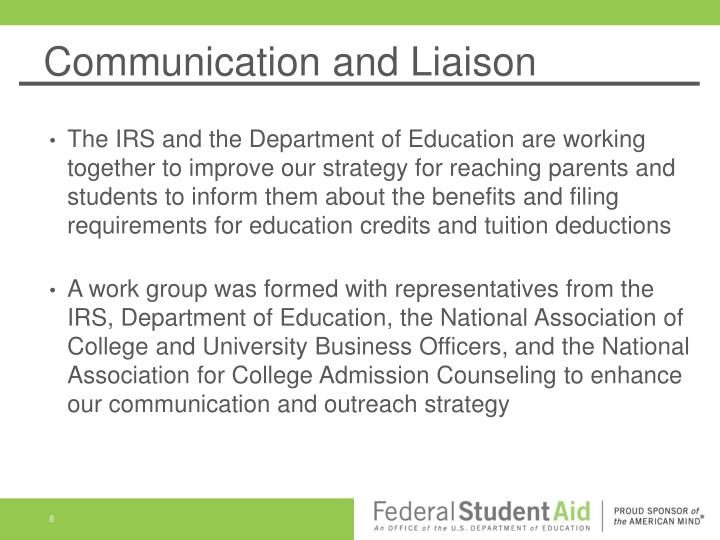 Communication and Liaison