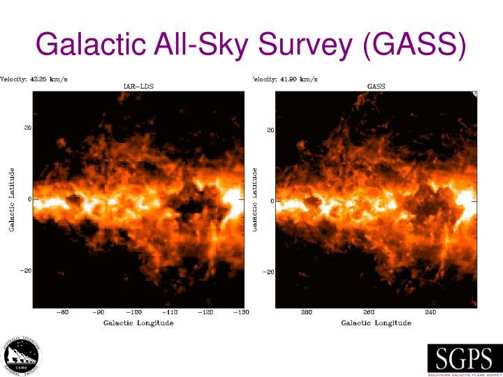 Galactic all sky survey gass