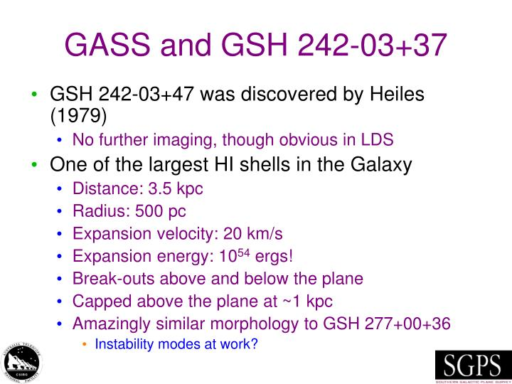 GASS and GSH 242-03+37