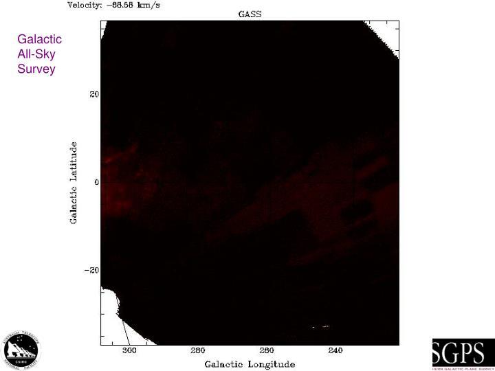 Galactic All-Sky Survey