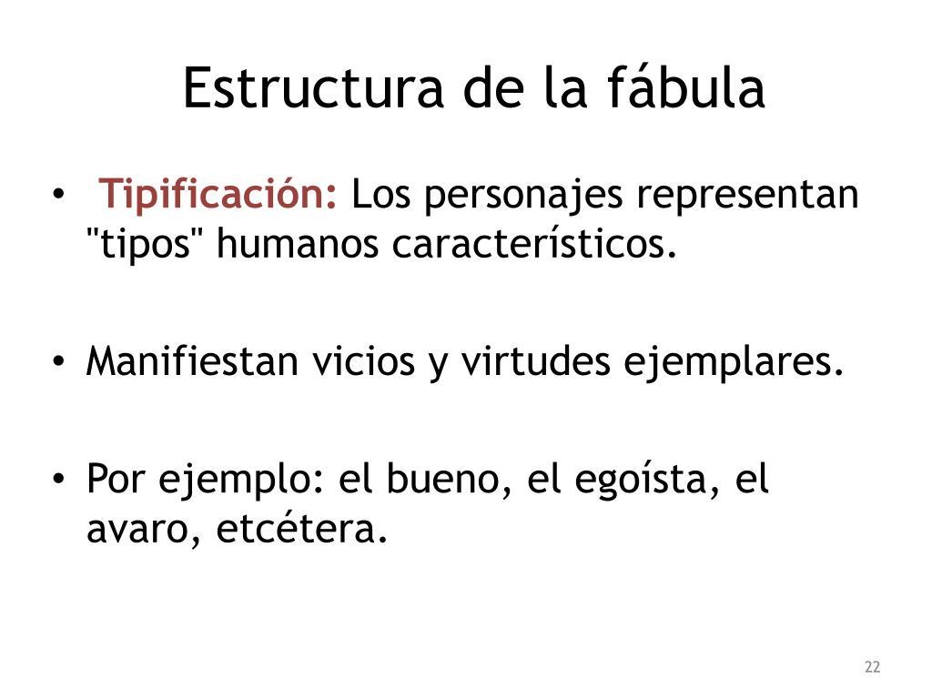 Ppt La Fábula Powerpoint Presentation Free Download Id