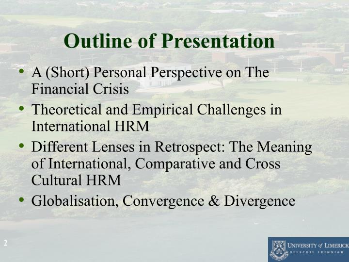 convergence and divergence in international hrm