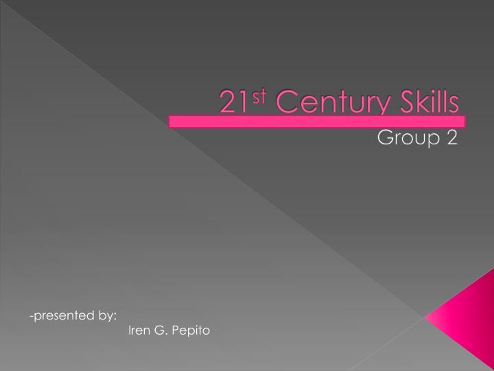 21 st century skills n.