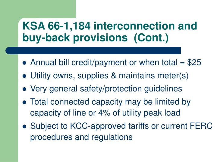 KSA 66-1,184 interconnection and