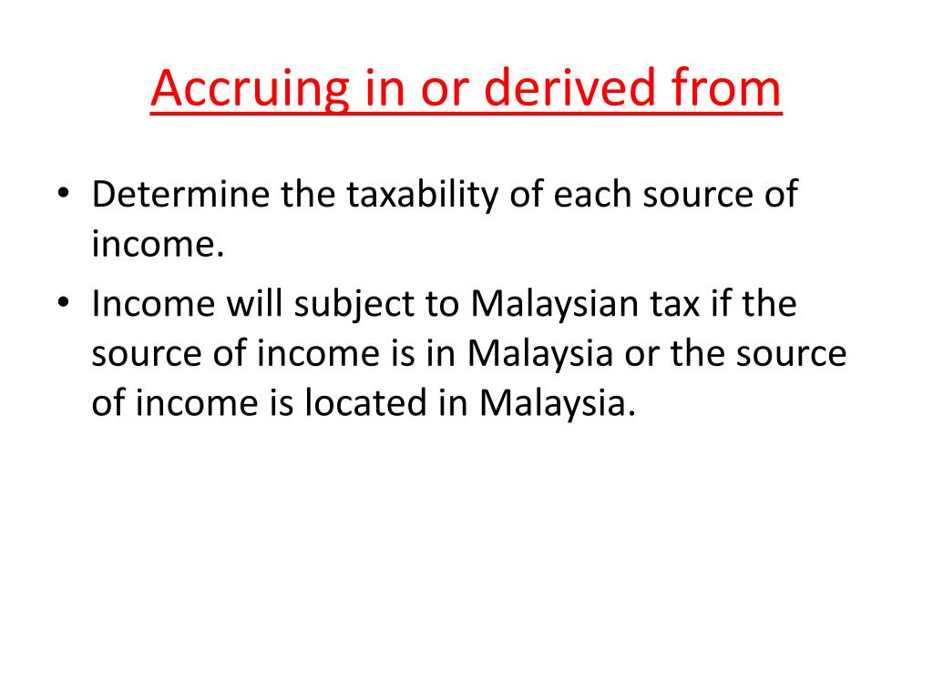 Ppt Tutorial 1 Introduction To Income Tax Law Powerpoint Presentation Id 3473088