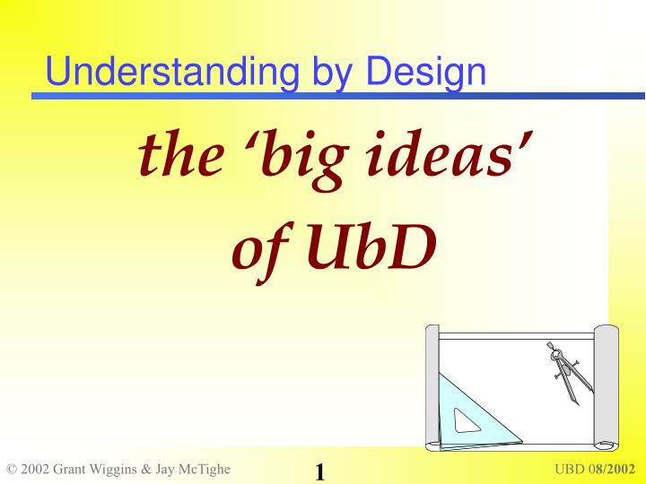 understanding by design n.