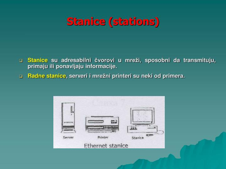 Stanice (