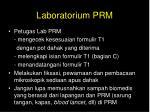 laboratorium prm