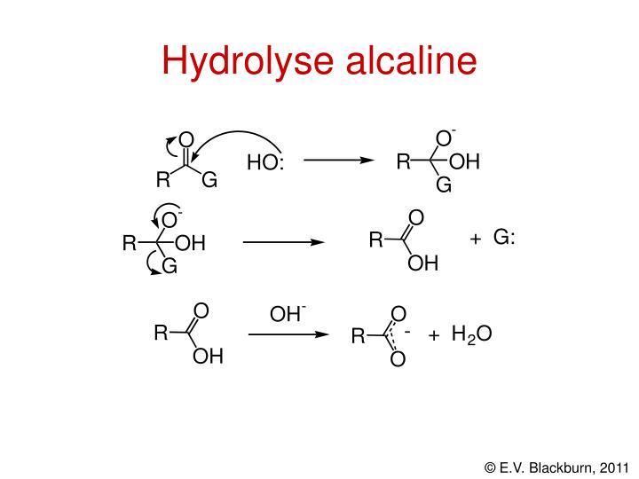 Hydrolyse alcaline