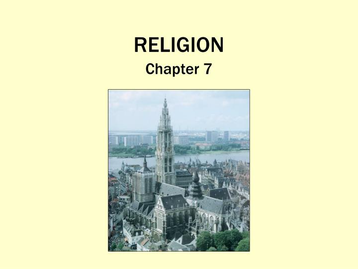 religion n.