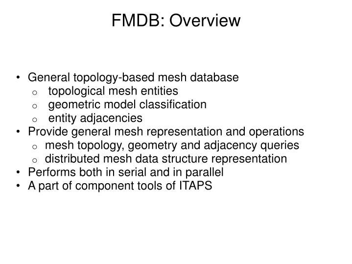 FMDB: Overview