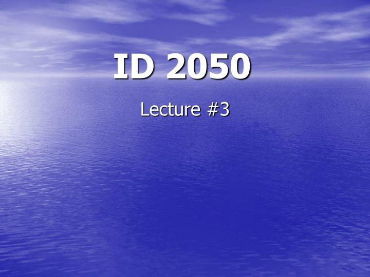 id 2050 n.