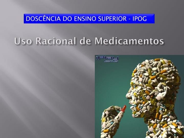 Estrategia de uso racional de medicamentos: experiencia colombiana / ….