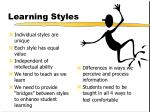 learning styles1