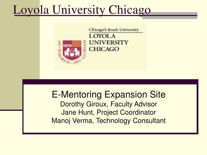 loyola university chicago n.