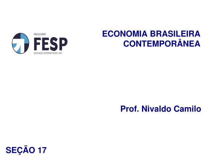 Economia brasileira contempor nea