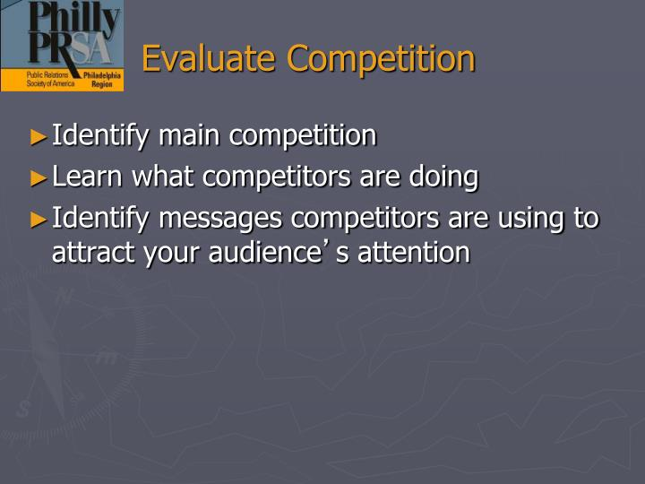 Evaluate Competition