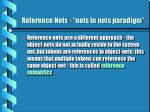 reference nets nets in nets paradigm1