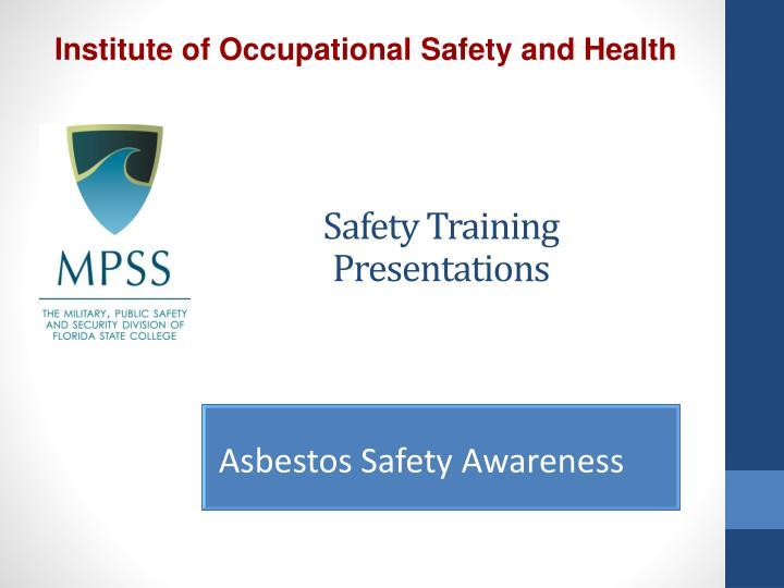 safety training presentations n.