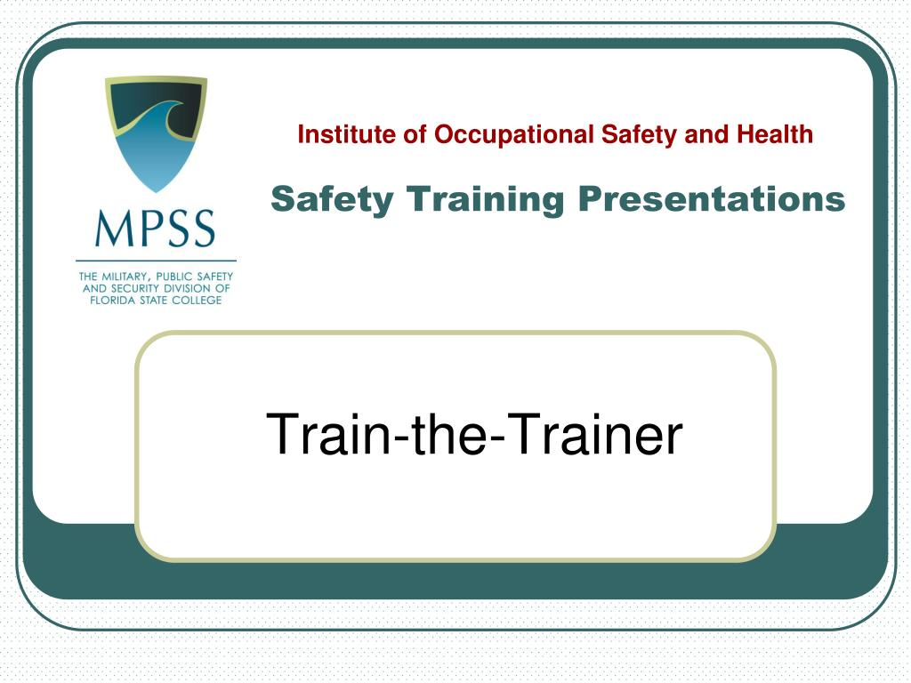ppt safety training presentations powerpoint presentation id 3477286