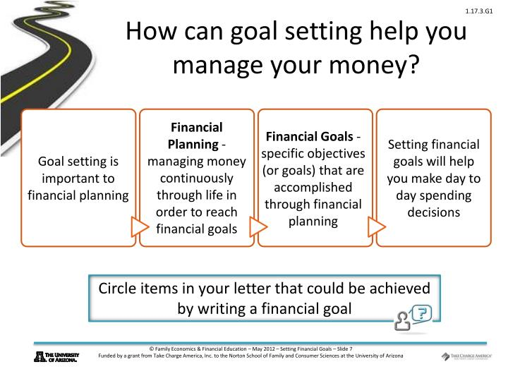 an introduction to the importance of budgeting and long range financial goals Performance-based budgeting is the  when the management of money is more important than  in performance-based budgeting first the goals and.