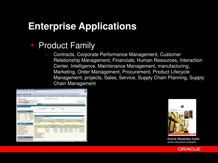 enterprise applications n.