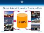 global safety information centre gsic