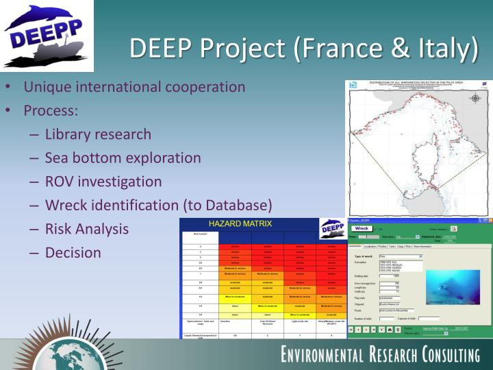 DEEP Project (France & Italy)