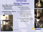 iotd2130 design features